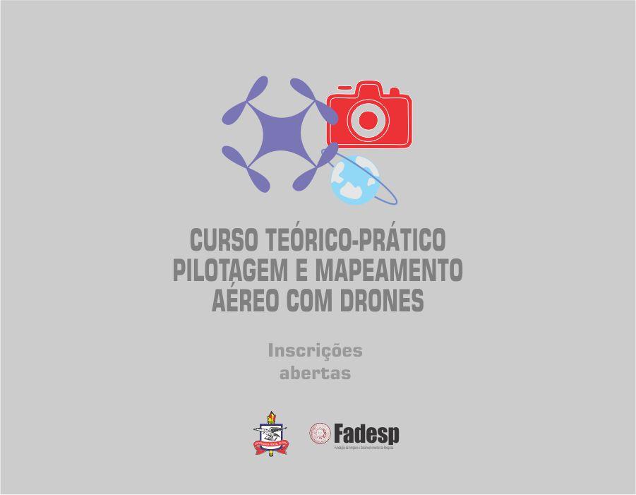 Laboratório de Monitoramento Ambiental da UFPA oferta curso de Pilotagem e Mapeamento Aéreo com Drones. A inscrição para a turma de dezembro ainda está aberta.