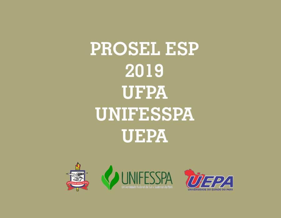UFPA, UNIFESSPA e UEPA abrem Processo Seletivo Especial para 900 vagas de bacharelado no interior do Pará. Inscrição a partir das 17h do dia 16 até o dia 22 de julho.