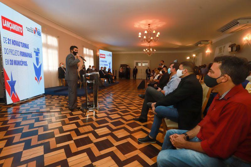 Programa Forma Pará lança mais turmas para UNIFESSPA, IFPA, UFOPA, UFRA e UEPA. A organização dos processos seletivos será feita pela FADESP.