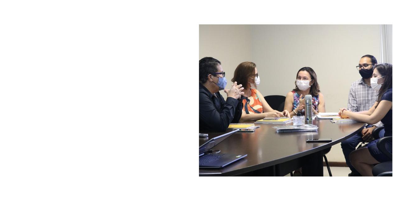 Comissão da UFOPA                    reúne com FADESP