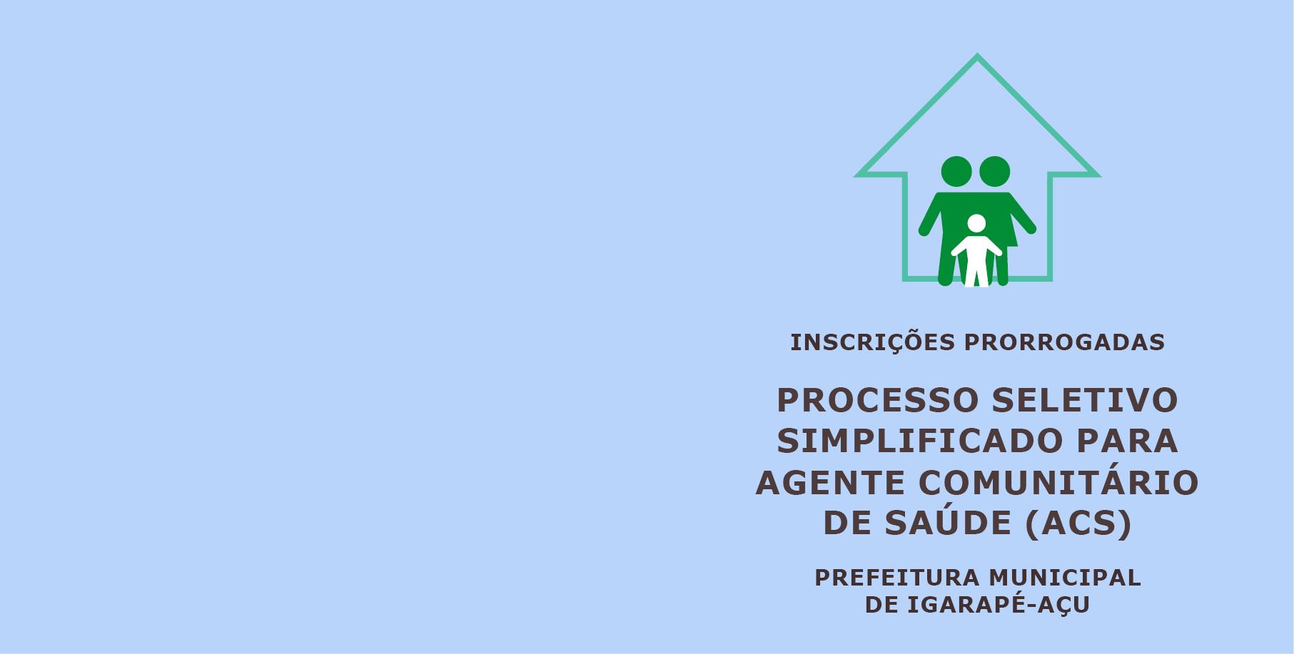 Read more about the article PSS/ACS Igarapé-Açu: inscrições são prorrogadas